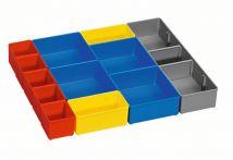 Bosch i-BOXX 53 inset box Set 12 Stück für Boxen für Kleinteileaufbewahrung