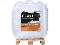 Claytec Lehm-Unterputz mit Stroh, trocken - 1000 Kg