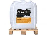 Claytec Lehm-Oberputz grob, Stroh 10mm erdfeucht - 500 kg