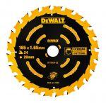 DeWalt Akku-KSB 165x20 24 WZ 18° für DCS391 DT10624-QZ
