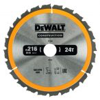DeWalt Kreissaegeblatt Stat. 216/30mm 24WZ DT1952-QZ