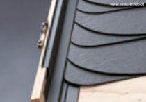 VELUX Eindeckrahmen Schiefer Stehfalz (Titanzink), Typ: EDS MK06 0300
