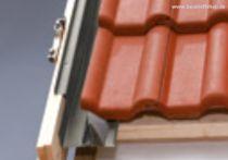 VELUX Eindeckrahmen Ziegel inkl. Dämm- und Anschluß-Set (Aluminium), Typ: EDZ UK04 2000