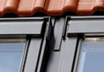 VELUX Kombi-Eindeckrahmen Ziegel hoch/Welle für Element unten Mitte (Aluminium), Typ: EKW UK10 0002F