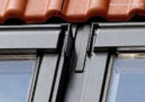 VELUX Kombi-Eindeckrahmen Ziegel hoch/Welle für Element unten Mitte (Aluminium), Typ: EKW UK10 0002G