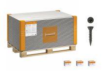 Volle Palette Fermacell Estrich-Elemente (MW), 1500x500x30 mm - 45 qm incl. Schrauben
