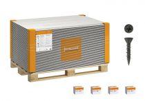 Volle Palette Fermacell Estrich-Elemente 1500x500x20 mm - 55,5 qm incl. Schrauben