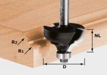 Festool Multiprofilfräser HW Schaft 8 mm HW S8 D36,7/R6/R6