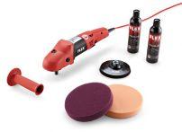 Flex PE 14-3 125 Set Ergonomischer Polierer mit Gasgebeschalter im Set Art.Nr.:407569
