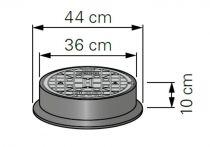 Opti-Control Schachtabdeckung - Gusseisen B125