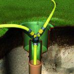 GARANTIA Wasseranschlussbox Extern, grün