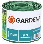 Gardena Raseneinfassung Rolle 15cm hoch 9m lang