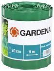 Gardena Raseneinfassung Rolle 20cm hoch 9m lang