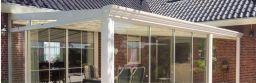 Gardendreams Terrassenüberdachung Legend Alu cremeweiß