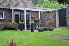 Gardendreams Terrassenüberdachung Expert Alu cremeweiß
