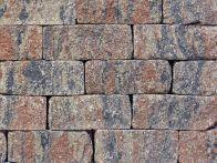 Gerwing Mauerstein GerloCastell UnoStone - muschelkalk, gerumpelt, 3-seitig gespalten, 30x16,5x12,5 cm