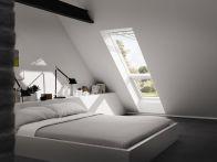 Velux Zusatzelement Dachschräge - Holz - Fensterblech Aluminium, Typ: GIL MK34 3066