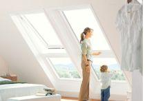 Velux Zusatzelement Dachschräge - Kunststoff - Fensterblech Aluminium, Typ: GIU MK34 0066