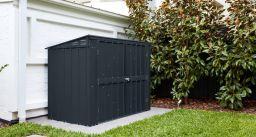 Globel Mülltonnenbox Easy mit Klappdeckel für 2 Tonnen 174x101 cm