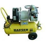 Grün 2-Zylinder-Kolbenkompressor, 350 Liter/min, 230 V