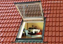 Velux Wohn- und Ausstiegsfenster - Holz - Fensterblech Aluminium, Typ: GTL MK08 3066