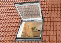 Velux Wohn- und Ausstiegsfenster - Kunststoff - Fensterblech Aluminium, Typ: GTU MK08 0066