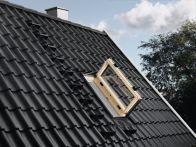 Velux Wohn- und Ausstiegsfenster - Holz - Fensterblech Aluminium, Typ: GXL FK06 3066