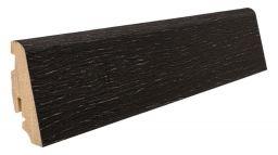 Haro Stecksockelleiste 19x58mm 2,2m Achateiche strukturiert furniert geölt, Art. Nr.: 409610