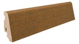 Haro Stecksockelleiste 19x58mm 2,2m Bernsteineiche strukturiert furniert geölt, Art. Nr.: 409611