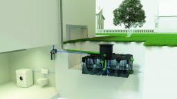 ACO Rain4me Haus und Gartenanlage Professional Einbau liegend