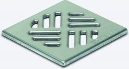 KESSEL-Schlitzrost 100x100 mm aus Edst. 1.4301, Klasse K3 | Nr.: 27150