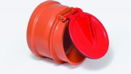 KESSEL-Rohrklappe DN 100 aus Kunststoff | Nr.: 79100