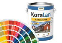 Koralan Außenfarbe Wunschfarbe nach RAL (Mischfarbe) - incl. Rührholz