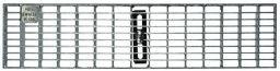 MEA Maschenrost 30/10 verzinkt, für MEAFLUID100
