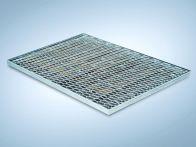 MEA GFK-Fußabstreiferkasten MEARIN komplett mit Rost Streckmetall