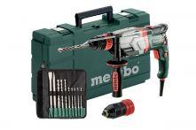 Metabo Multihammer UHEV 2860-2 Quick Set (600713510) + SDS-plus-Bohrer-/Meißelsatz