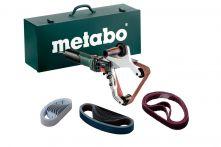 Metabo Rohrbandschleifer RBE 15-180 Set (602243500) Stahlblech-Tragkasten