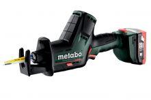Metabo Akku-Säbelsäge PowerMaxx SSE 12 BL (602322800) Kunststoffkoffer 12V 2x4Ah LiHD + ASC 55