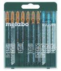 Metabo Stichsägeblattsortiment Promotion, 10-teilig, für Holz+Metall+Kunststoffe (623599000)
