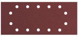Metabo 10 Schleifblätter 115x280 mm, P40, Holz+Metall, Serie professional, 14 Löcher (624491000)