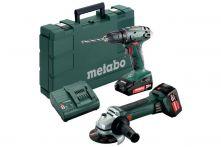 Metabo Akkuset Combo Set 2.4.3 18 V (685082000) BS 18 + W 18 LTX 125 Quick Kunststoffkoffer