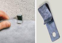 DELTA Clip für Mauerwerkssperre - Paket á 100 Stück