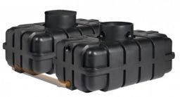 Nautilus Flachtank Regenwassertank - Zisterne - 3400 Liter