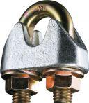 NW Sicherheitsdrahtseilklemme DIN 1142-EN 13411-5 Gew.M5 Nenn-Gr.5,0mm verz. (1000120145)