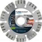 Nozar Diamant-Trennscheibe - 125x22,23 mm - Laser Turbo-S-Cut  | 6700051
