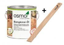 Osmo Terrassen-Öl Bangkirai-Öl Naturgetönt incl. Rührholz