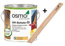Osmo UV-Schutz-Öl Extra Farblos Extra incl. Rührholz