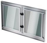 ACO Stahlkellerfenster verzinkt, 2-flügelig 800x 400 mm