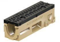 ACO PowerDrain V75/100 P Rinnenkörper - 0,5 m lang