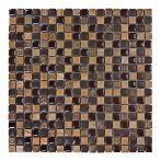 HPH Placke Mosaik 1,5x1,5 BELLINO-4 marrone anticato 30x30x0,8 cm Art. 14840